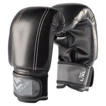 Luva de Boxe Vollo Muay Thai Pro G/GG Preta -