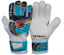 Luva De Goleiro Poker Deep 7 Training Kids - Azul