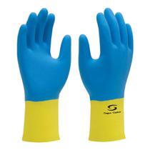 Luva de Látex e Neoprene Bicolor Supermix - Super Safety -