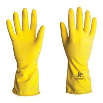 Luva de Látex Uso Geral Amarela - Kalipso