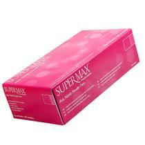 Luva de Nitrilo Rosa Pink Supermax XP 100 unidades -
