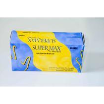 Luva de procedimento - Latex Supermax - Tamanho G - 100 un. -