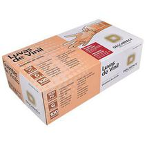 Luva de Vinil sem Po TAM G CA 36.683 PT 100 UN Descarpack -
