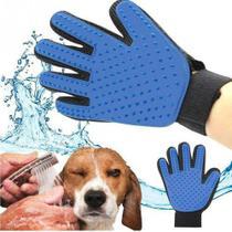 Luva Escova Magnética Tira Pelos Dos Cães E Gatos - Asotv