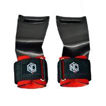 Luva Hand Grip Lion Preta com Vermelho para Cross Training Fit - Nc Extreme