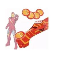 Luva homem de ferro Lança Discos C/luz E Som Vingadores brinquedo - Kotobukiya