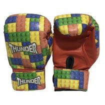 34e08ac93 Luva infantil 6 Oz - Boxe   Muay Thai   Kickboxing - Thunder Fight - Ref