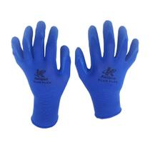 Luva Kalipso Tricotada Blue Flex Tamanho 9/g Azul -