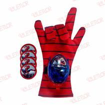 Luva Lança-discos Homem-Aranha Vingadores Marvel - Variada
