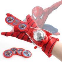 Luva Lança-discos Homem-Aranha Vingadores Marvel -