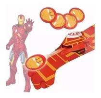 Luva Lança Discos homem de ferro C/luz E Som Vingadores brinquedo - Kotobukiya