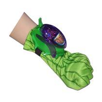 Luva Lança Discos Hulk C/luz E Som Vingadores - Toychin