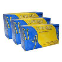 Luva Latex Com Talco P Combo C/300 Und Supermax -