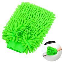 Luva Microfibra Para Lavar Carro Cores Sortidas - Vendasshop Utensilios De Limpeza