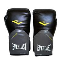 Luva Muay Thai Boxe 12 Oz Everlast Pro Style Preta -