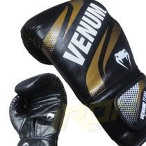 Luva Muay Thai Boxe Venum Sparring Gold -