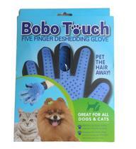 Luva Nano Magnética Para Tirar e Pentear Pelos Animais De Estimação Cachorro e Gatos Massageador - True Touch