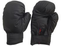 Luva para muay thai feminina e masculina boxe bate saco box par Preto - LB220P - Western