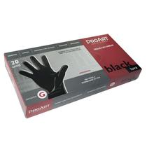 Luva ProArt Latex Black G Com 20 Unidades -