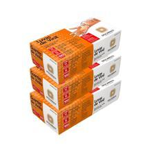 Luva Procedimento de Vinil c/pó Descarpack kit c/3cx de 100 un -