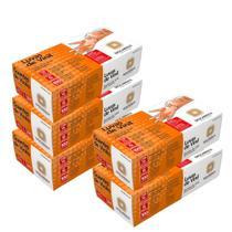 Luva Procedimento de Vinil c/pó Transparente Descarpack Kit c/500un -