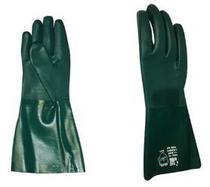 Luva Pvc Forrada Plastcor Verde 45cm - Kalipso