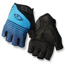 Luvas Bike Mtb Speed Giro Jag Gel Preto, Azul TAM M -
