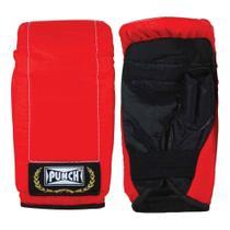 Luvas de Boxe - Infantil - Bate-Soco - Vermelho - Punch -