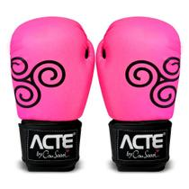 Luvas de Boxe Rosa by Cau Saad CAU16 -10 Acte Sports -
