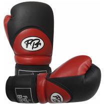 Luvas de Kick Boxe Muay Thai Injetada - FBr - Vermelha - Par - Fight Brasil