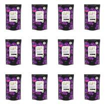 Lux Orquídea Negra Sabonete Líquido Suave Refil 200ml (Kit C/12) -