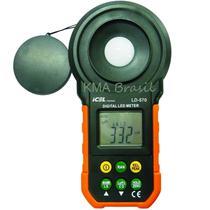 Luxímetro digital para led ld-570 icel -