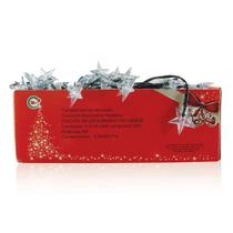 Luz de Natal Cascata 160 Leds Branca - Chibrali -
