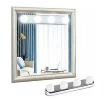 Luz Espelho Penteadeira Camarim Arandela Led Maquiagem 4 Lampadas -