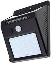 Luz Led De Parede Luminaria Solar Com Sensor Movimento - zem