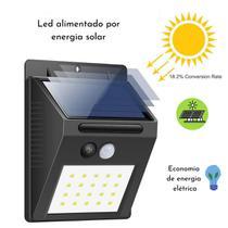 Luz Solar Sensor De Movimento Alpendre Caminho Luz para Decoração de Jardim Arandela Externa - DS