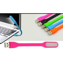 Luz USB Flexível Para Notebook Pc Desktop Rosa - Led lamp