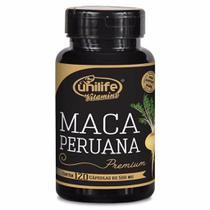 Maca Peruana Premium 100% Pura 550mg 120 Cáps - Unilife -