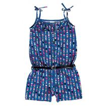 Macacão Azul Marinho Corações Malwee -