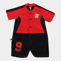 Macacão Bebê Flamengo Artilheiro nº 9 - Rêve dor