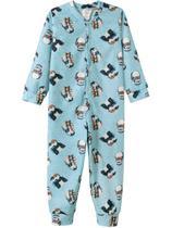 Macacão Bebê Menino, em Soft, Pinguim - Fantoni -