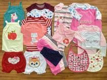 Macacão, Body E Calça Recém-nascido Meninas Kit Com 20 Peças - Baby Bird