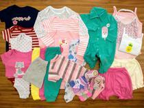 Macacão, Body E Calça Recém-nascido Meninas Kit Com 24 Peças - Baby Bird