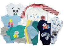 Macacão, Body E Calça Recém-nascido Meninos Kit Com 14 Peças - Baby Bird