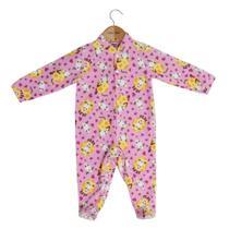 a0f2e540b Macacão Pijama Infantil - Fazendinha - Tip Top Rosa -