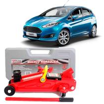 Macaco Hidraulico Jacare 2 toneladas Ford New Fiesta Tds - Overvision