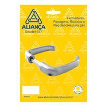 Maçaneta alavanca anatômica bronze latonada Aliança -
