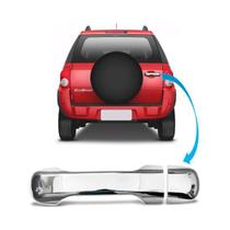Maçaneta Aplique Cromado Porta Malas Ecosport 2013 2014 2015 - Ford