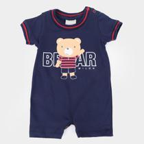 Macaquinho Bebê Milon Bear Masculino -