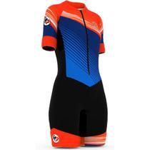 Macaquinho ciclismo forro gel d80 f 02 azul - Horse Power